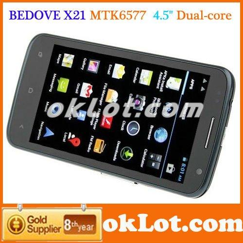2012 новый 3g андроид 4.0 смартфон мобильный телефон mtk6577 врачей bedove