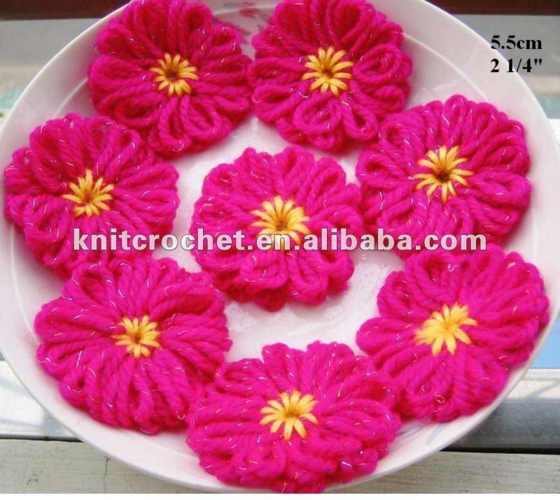 Crochet_Flowers_Crochet_Brooches_Crochet_Appliques_Crochet_Motif
