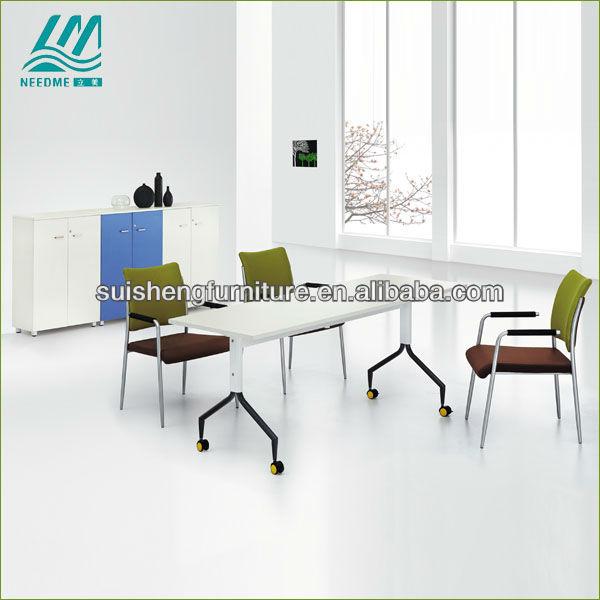 Un estilo moderno y funcional de la mesa plegable metal for Muebles de oficina rd
