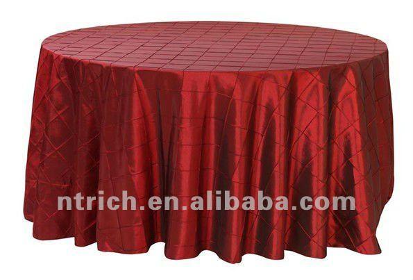 nappe de luxe de pintuck de taffetas toile de table h tel nappe de banquet nappe de table id. Black Bedroom Furniture Sets. Home Design Ideas