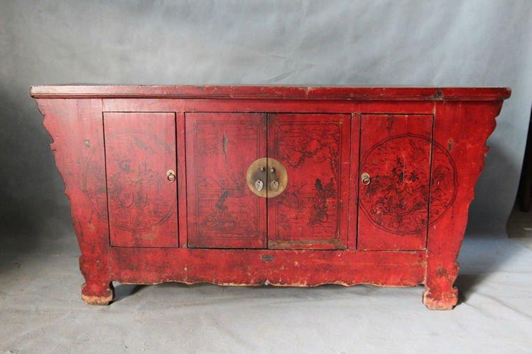De reciclaje de muebles de madera maciza antigua pintura - Reciclar muebles antiguos ...