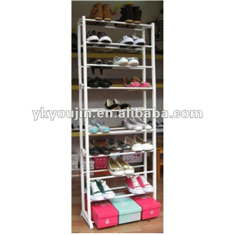 Zapatero dise os 30 par de zapatos rack 1101 30 dem s muebles de metal identificaci n del for Zapatero plastico conforama