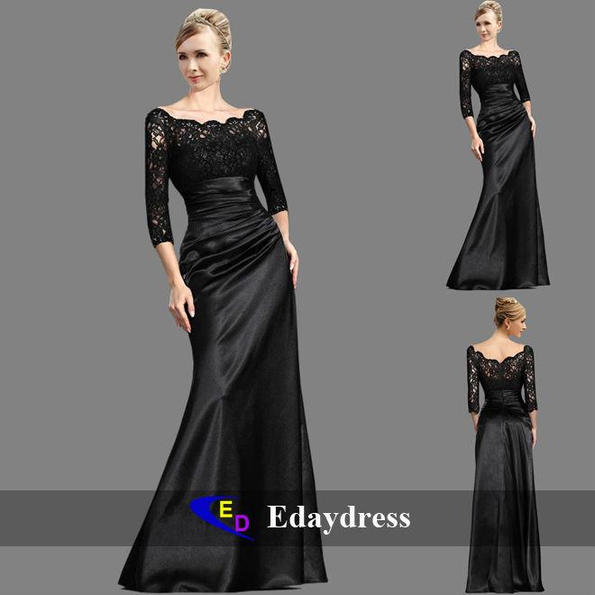 Falda de dama de honor fiesta formal vestido de noche vestidos