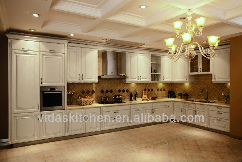 Pvc Blanco Gabinetes De Cocina Moderna Mobiliario De Cocina Pictures