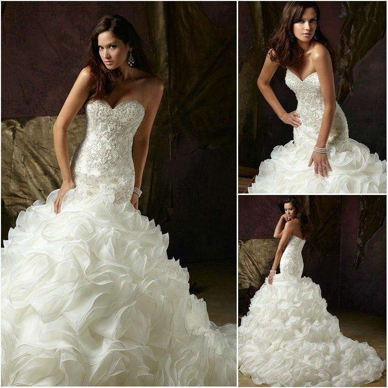 Как Накрахмалить Часть Свадебного Платья