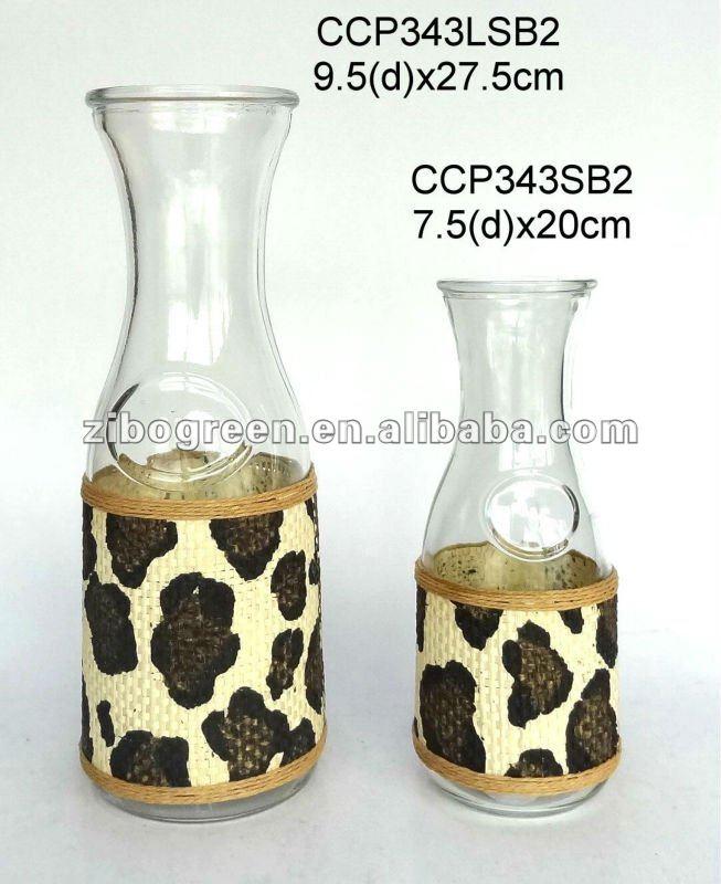 Zibo Tysan Light Industrial Products Co Ltd: Ccp343lsb2 Leite Garrafas De Vidro Com Revestimento De