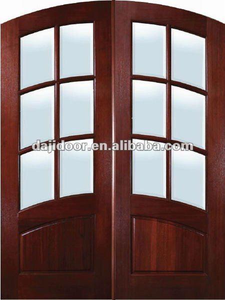 Verre double arch con oit porte principale dj s9183a int rieur de la maison p - Porte principale maison ...
