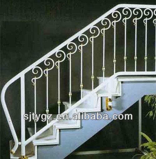 2013 de hierro forjado barandilla de la escalera piezas de for Pasamanos de escaleras exteriores