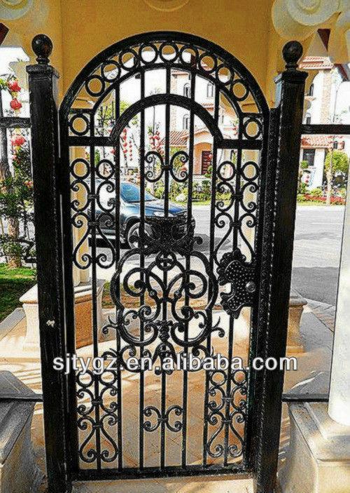 2013 populaire de luxe porte en fer forg cl tures for Porte fer forge exterieur