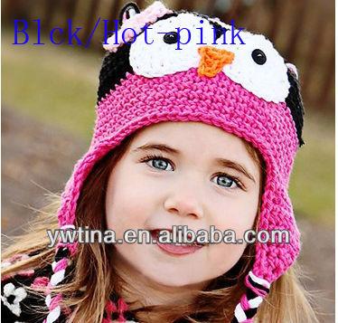Шапочки крючком для детей