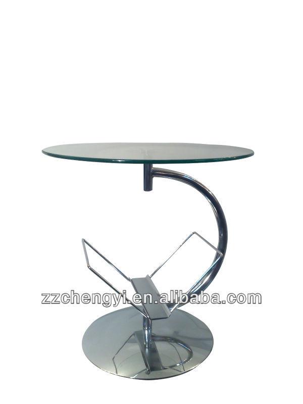 круглый стеклянный обеденный стол Получить увеличенное изображение