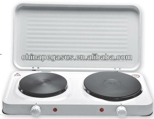 Port til de doble cocina el ctrica placa caliente con la - Cocina electrica portatil ...