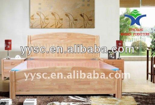 moderni in legno massello mobili camera da letto matrimoniale-Letto-Id ...