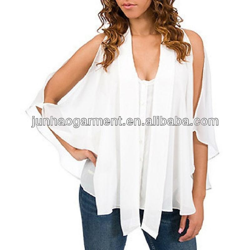 Angel Sleeve Blouses 112