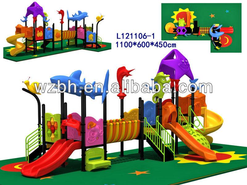 2013 baihe guarder a baby room equipo del patio jard n de infantes diapositiva del patio for Juegos para nios jardin de infantes