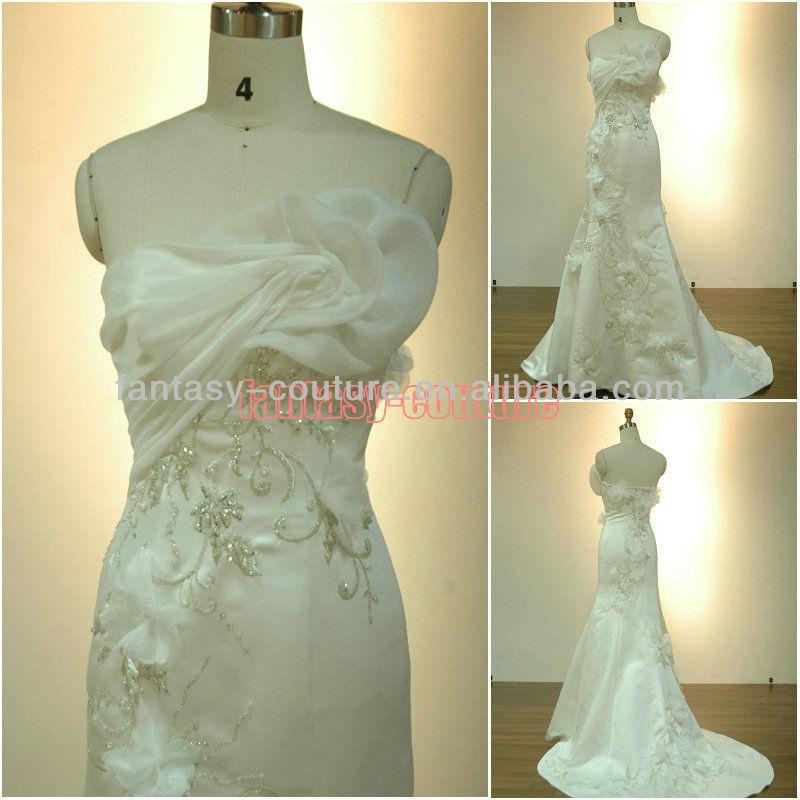Вышивка бисером свадебных платьев схемы 13