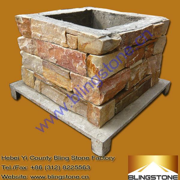 Natural decorativos de hormig n de cemento piedra bloques for Bloques decorativos