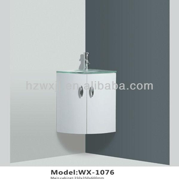 Parede de canto pia do banheiro lavagem gabinetePenteadeiras para banheiroI -> Armario Para Pia De Banheiro De Canto