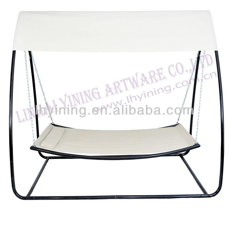 stee adlut gartenschaukel bett mit baldachin schwingen im. Black Bedroom Furniture Sets. Home Design Ideas