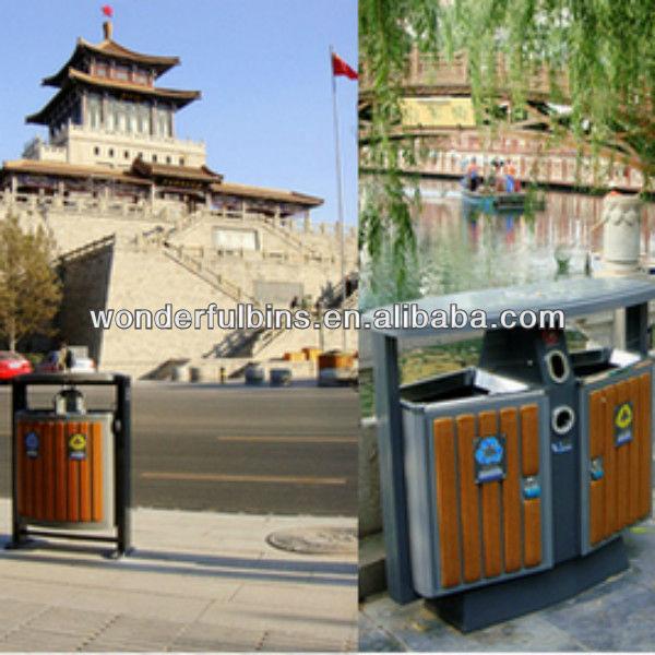 Ext rieur poubelle poubelle id du produit 729407956 for Grande poubelle exterieur