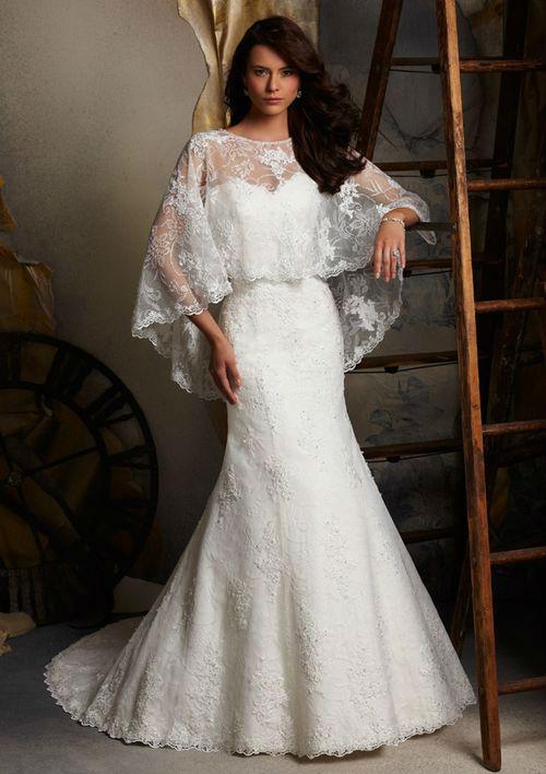 Spanish Designer Lace Wedding Dresses 27