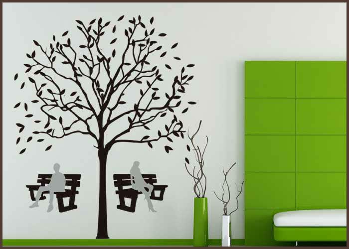 Dibujo de arbol para la pared imagui for Dibujos faciles para paredes