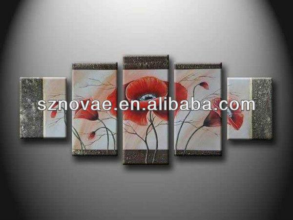 Cuadros abstractos modernos muy decorativos tcnicas - Cuadros muy modernos ...