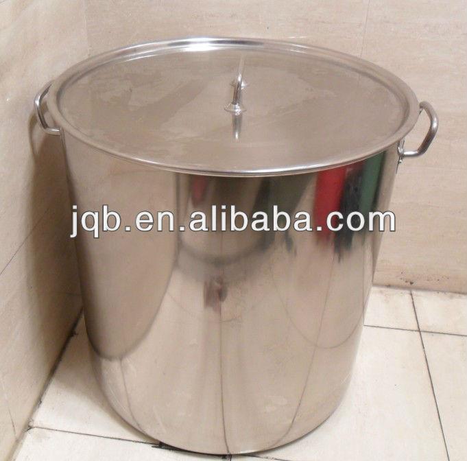 Industrial de acero inoxidable 50l grandes ollas de cocina for Ollas para cocina industrial
