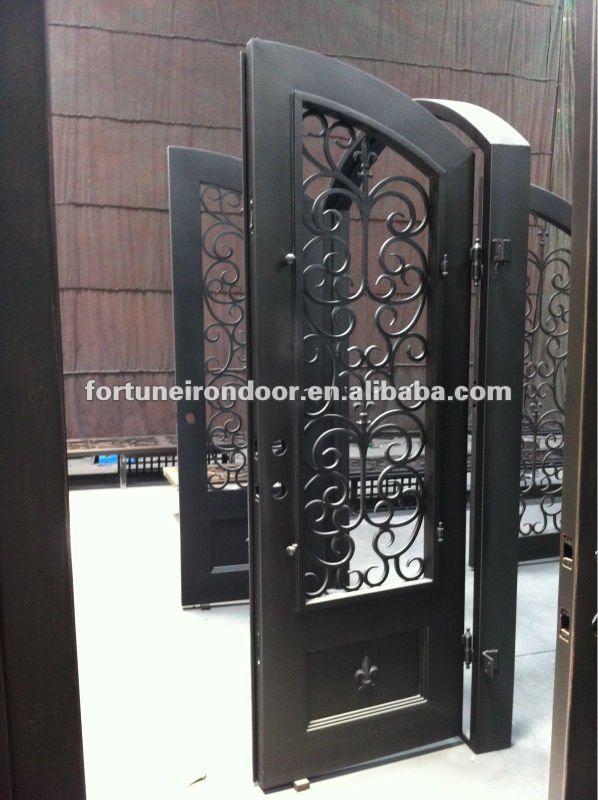De hierro forjado dise os de puertas de garaje lowes kits for Disenos de puertas de hierro