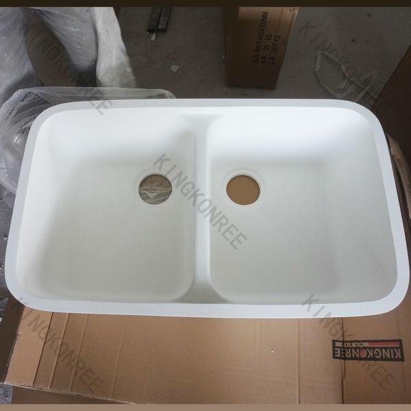 Resina acrilica doppio lavello sanitari lavello sottopiano - Lavello cucina resina ...