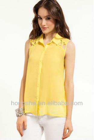 Modelos de blusas para festas de camisa