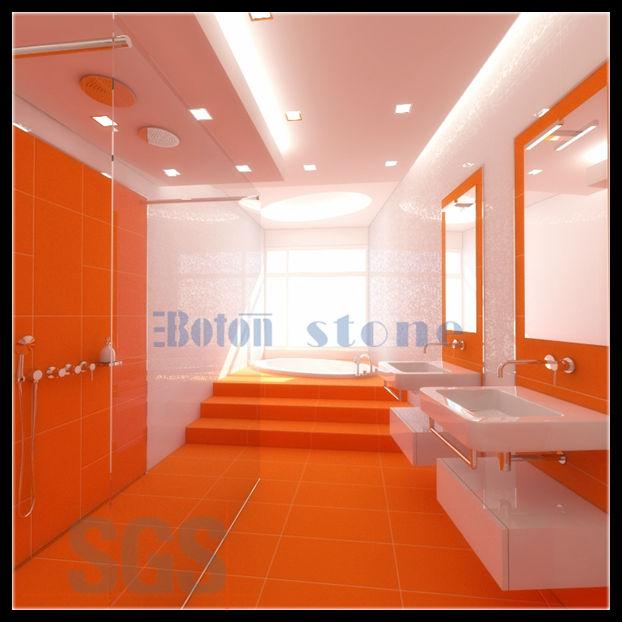 Colore Arancione Fuaximpiallacciatura Muro Pietre Per