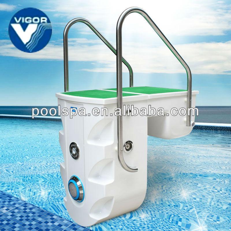 Filtro de la piscina equipo con las boquillas de acero for Piscina acero inoxidable precio