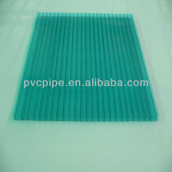 de plástico transparente para techos de hoja de policarbonato de los