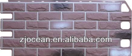 Pannelli finto muro mattoni