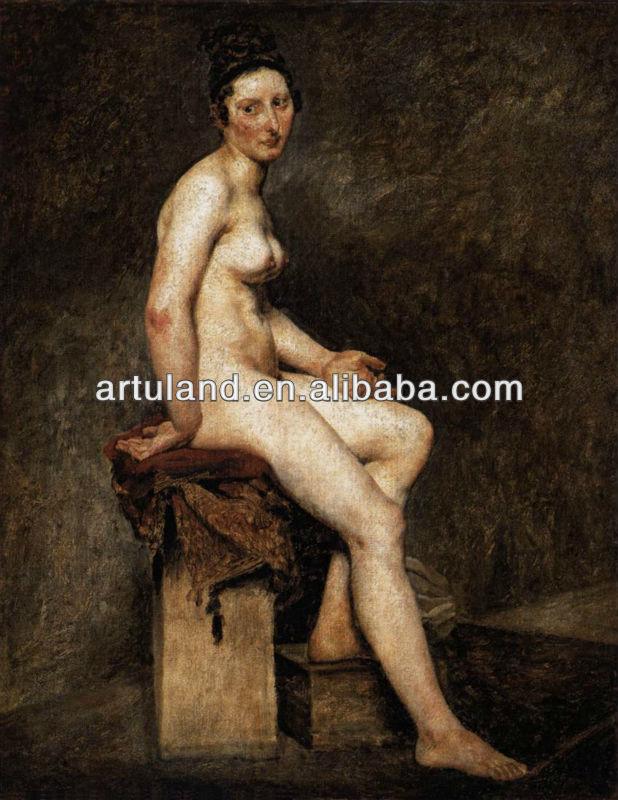 Classical Nude Mulher Sey Pintura E Caligrafia Id Do Produto