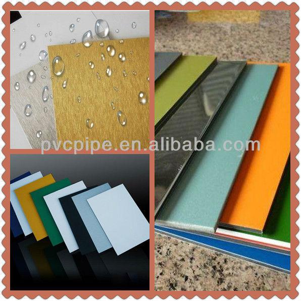 ... yapı dekorasyon/3mm mouldproof ACP/alüminyum plastik kompozit panel