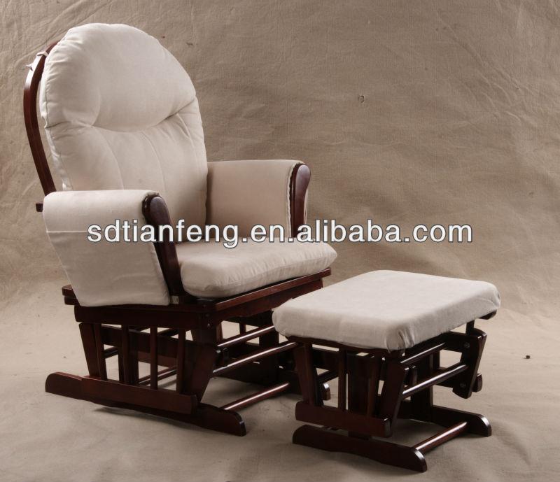 planeur allaitement chaise ber ante avec repose pieds chaises en bois id du produit 938889773. Black Bedroom Furniture Sets. Home Design Ideas