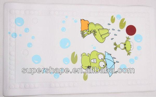 Imagenes De Tazas Baños:de dibujos animados de pvc alfombra de baño con tazas de succión
