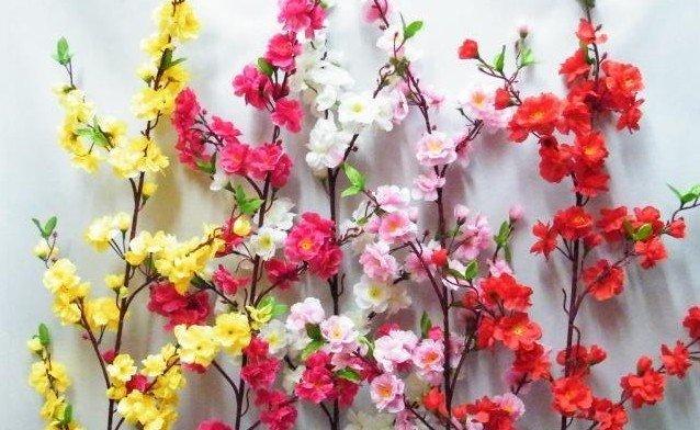 flower artificial flower silk flower per bunch
