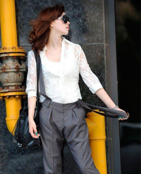 fashion half sleeve blouse