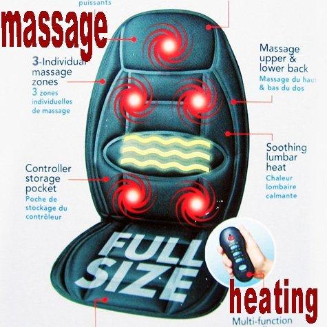 Massaging Cushion - Massage Chair - Seat Cushion - Back Cushion