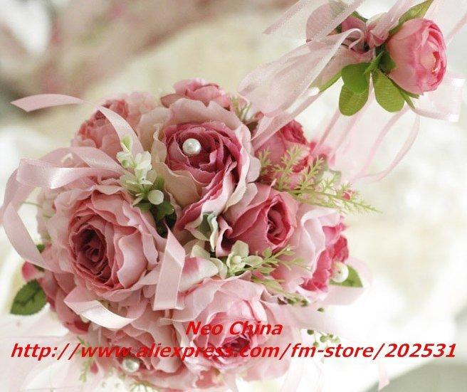 silk flowers wedding bouquet - wedding flowers 2013