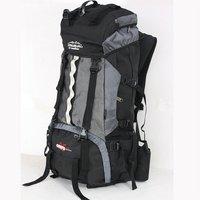 Large capacity professinal CR frame camping hiking backpack+free rain cover