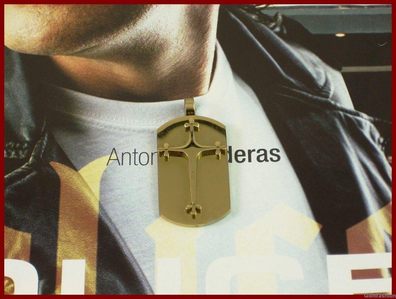 cross dog tag necklace. cross dog tag necklace
