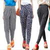 New 2014 Women's thin women's legging casual sports high waist harem pants loose ankle length trousers
