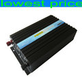 FREE SHIPPING pure sine wave power inverter 1500W/3000W,dc12V 24V to ac 110v-220V,50/60HZ (not grid tie ) ,for solar and wind