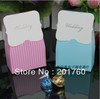 Wedding favor boxes gift paper bags candy boxes Chromatic stripe Wedding candy box 100 PCS/lot free shipping