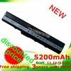 5200mAH  6 cell laptop battery for Asus K52J K52F A52 A52J K42 K42F K52F K52J K52N  A31-K52 A32-K52 A41-K52 A42-K52