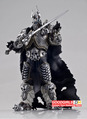 "Free Shipping World of Warcraft Lich King Arthas Death Knight FrostMourne Collection Action Figure Model 7"" WWFG036"